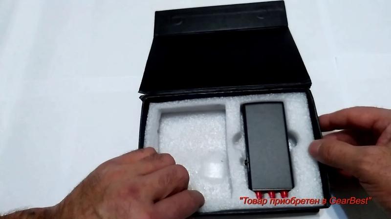 Подавитель сигнала «Portable Phone Triple Signal Interference Shield» приобретено в GearBest.