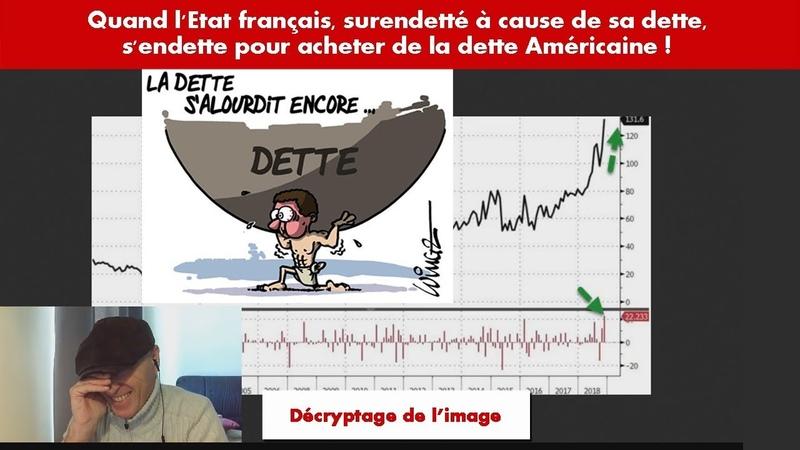 LÉtat français surendetté à cause de sa dette, sendette pour acheter de la dette Américaine !