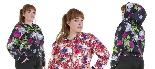 f74733b2e7a Купить Женский спорт костюм с цветами большого размера в Одессе от компании