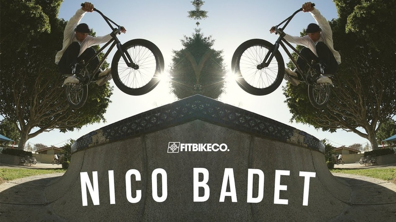 Fitbikeco Nico Badet in the USA insidebmx