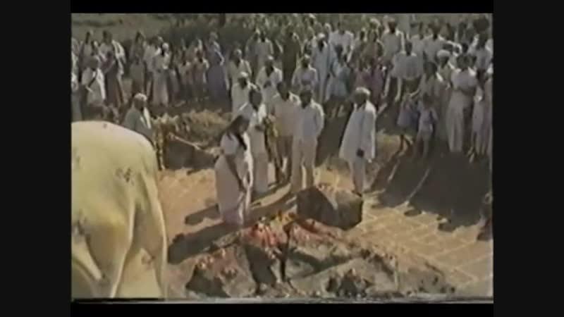 1982-0201 Visit to Ekadesha Rudra Swayambhu Musalwadi, Rahuri