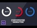 AFTER EFFECTS TUTORIAL : infographics animation in after effects- Infographics