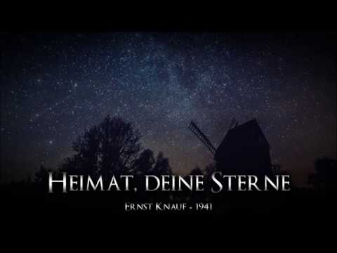 """♫ """"Heimat, deine Sterne"""" • 1941 [Liedtext] ♪"""