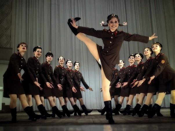 Ансамбль песни и пляски Советской Армии, 1978 год.