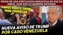 Errores de Trump fortalecen iniciativa de paz de AMLO en Venezuela. Jorge Ramos la quiere reventar