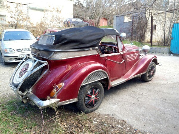 Продам dkv, на ходу,двигатель и колеса не родные(ваз2103) 1938г.в. в помощи с продажей не нуждаюсь.