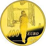 Удивительные и дорогие монеты евро, монеты, нумизматика, 100 лет со дня рождения Сальвадора Дали, «Женщина у окна»