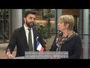 France Jamet (RN) et Marco Zanni (Lega) sur le traité de libre-échange JEFTA