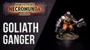 How To Paint Necromunda Goliath Ganger - Orange True Metallic Metals