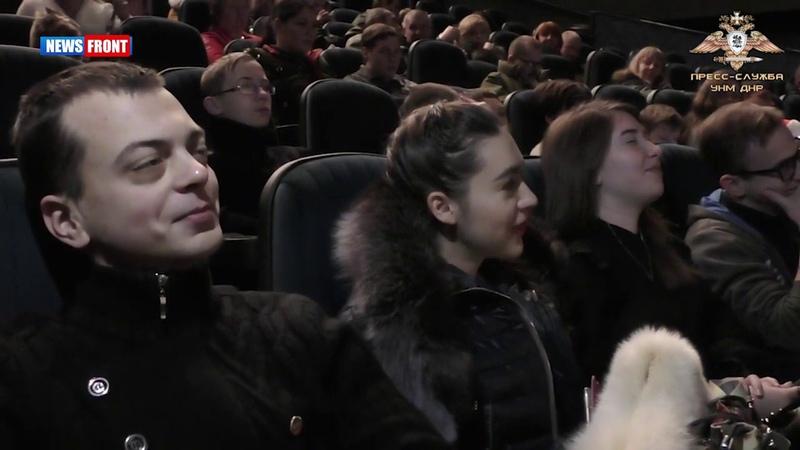 Участвующие в танковых боях в ДНР на просмотре фильма «Т-34»