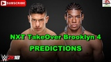 WWE NXT TakeOver Brooklyn 4 EC3 vs Velveteen Dream Predictions WWE 2K18