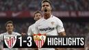 Athletic Bilbao vs Sevilla 1-3 Resumen Highlights - 10/01/2019