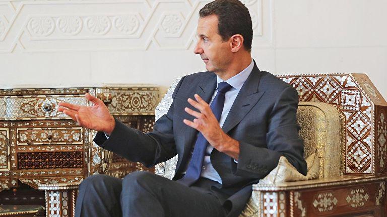 Асад заявил о намерении посетить Крым
