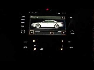 VW Phaeton GP3 - RNS 810 Navigationssystem