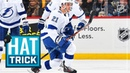 Brayden Point collects a natural hat trick in 91 seconds!