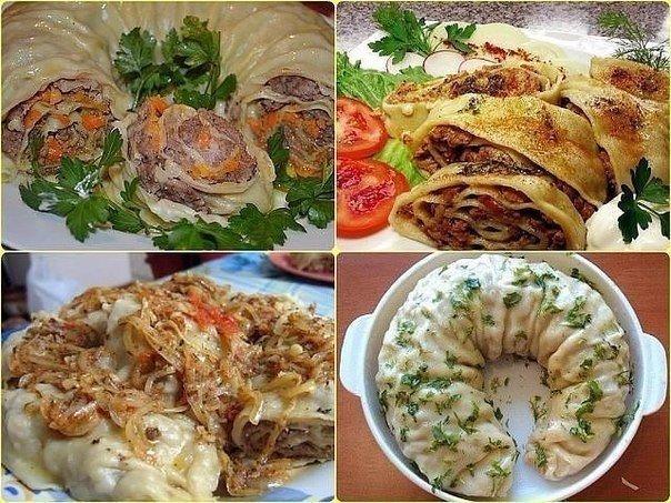 ханум в духовке рецепт с фото