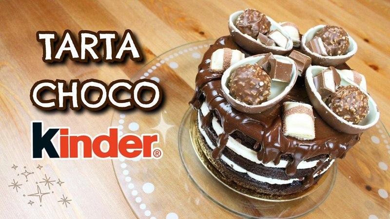 TARTA CHOCO KINDER | PatryCupcakes