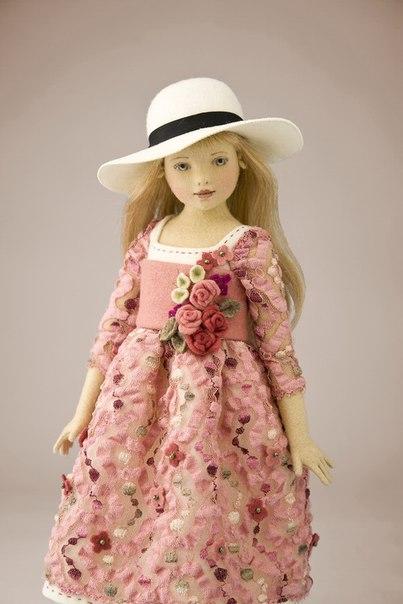 Куклы из фетра и войлока американской кукольницы Maggie Iacono ZexBrCUou4M