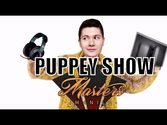 🔴PUPPEY SHOW - BATTLE OF THE RAGES - MANILA MASTERS