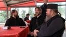 Отцы Феофил, Юлиан и Глеб Грозовский поют колядку. К фильму Берегите детей!