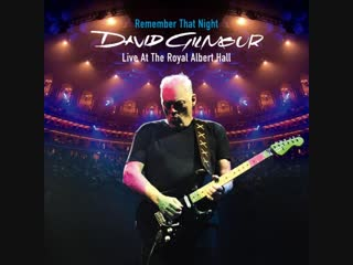 ♫ David Gilmour : Remember That Night 2007 : Royal Albert Hal
