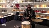 Steve Jordan Checking Out The New Snare Drum Vault at Memphis Drum Shop