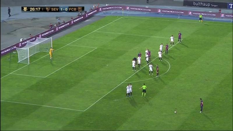 Севилья Барселона Суперкубок Испании 2018