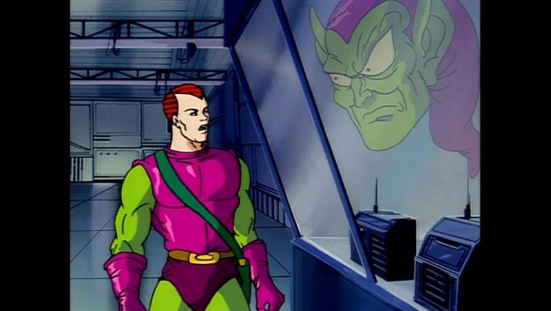 Человек-паук – 4 сезон, 8 серия. Друзья в опасности. Часть 8: Возвращение Зелёного Гоблина » Freewka.com - Смотреть онлайн в хорощем качестве