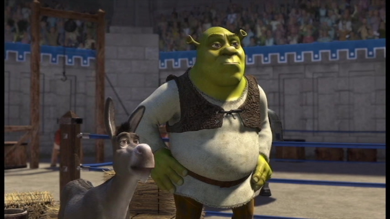 Shrek has swag (8А-Б КВН)