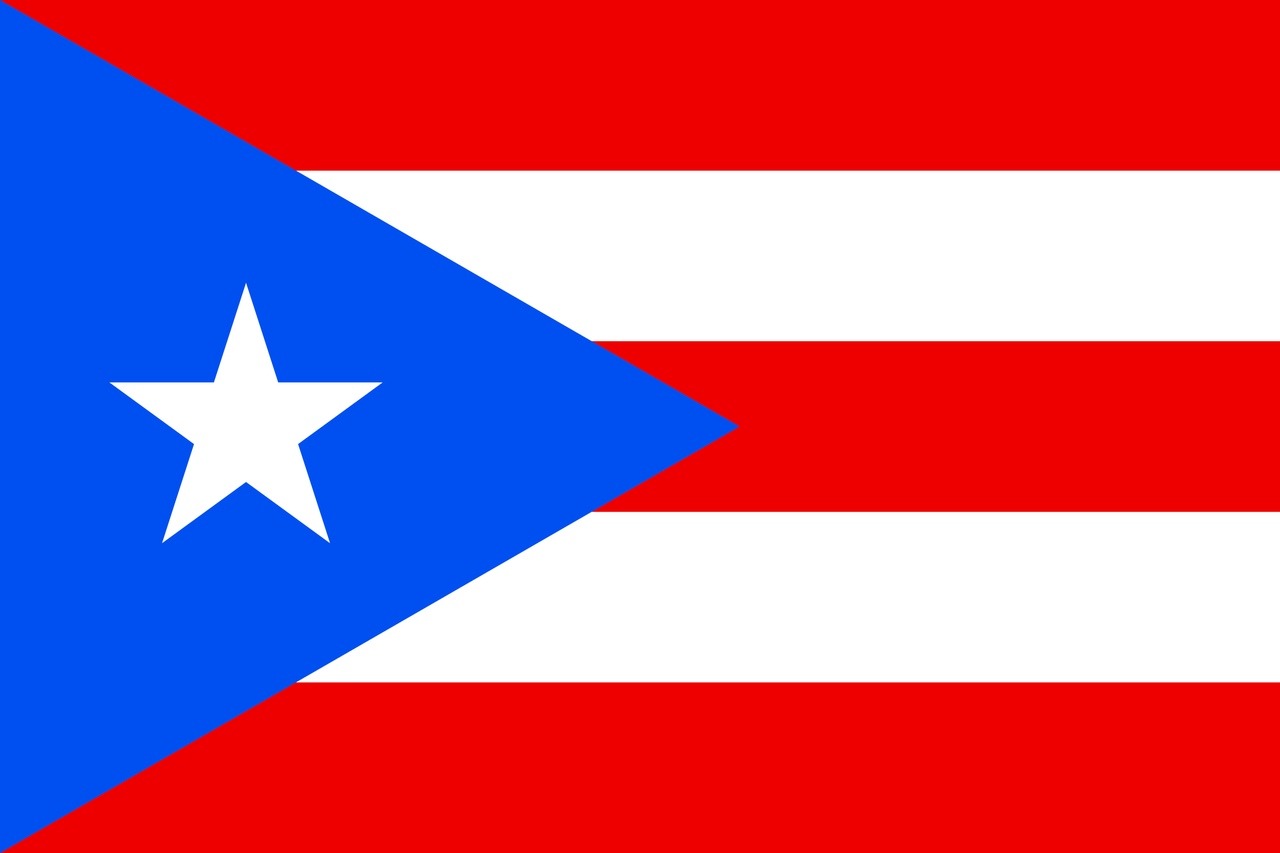 Флаг Пуэрто-Рико