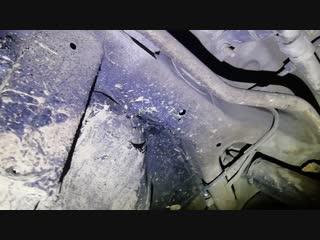 Kia Cerato 3 замена отсека запасного колеса и задней панели
