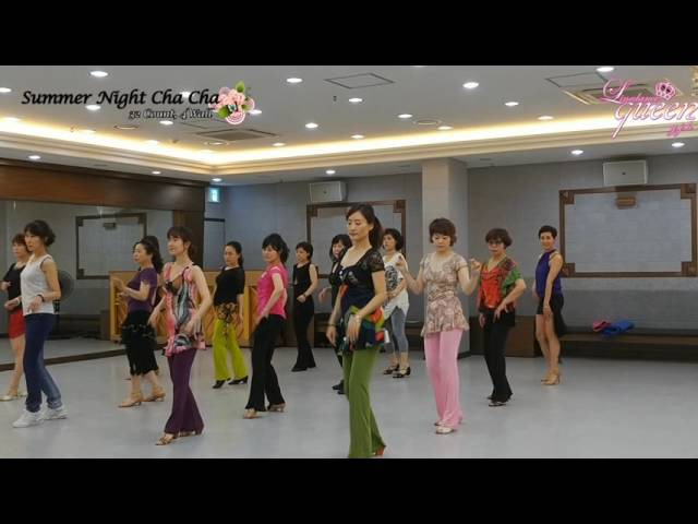 Summer Night Cha Cha Line Dance Beginner Ir Torre Demo