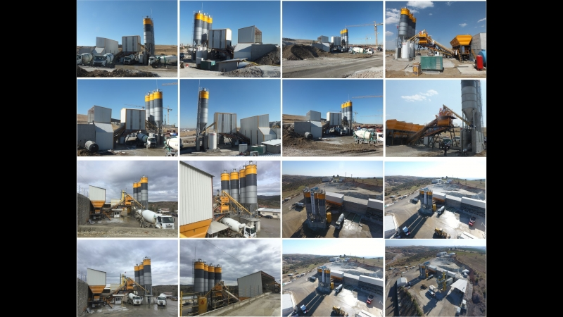 Insmakina mikserler concrete batching plants beton santralleri