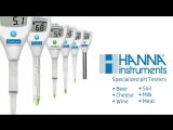 Новая линейка специализированных pH-тестеров Hanna Instruments NKpribor.ru