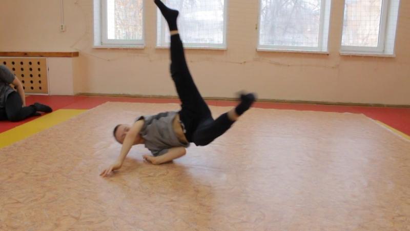 Клим тренирует гелик