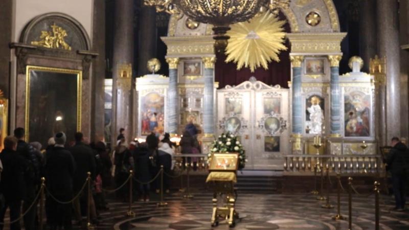 Санкт Петербург внутри Казанского собора