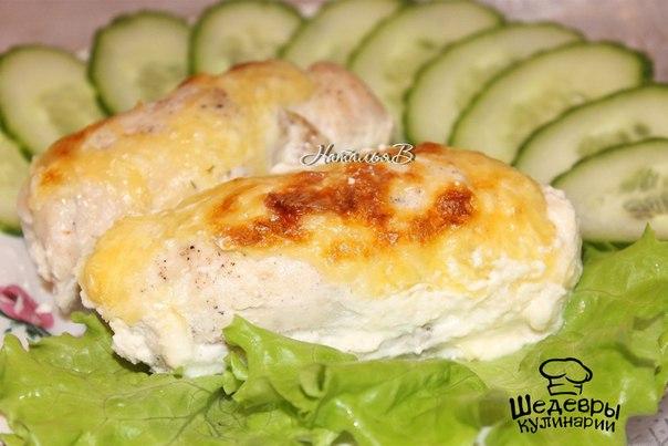 Куриные рулетики с сыром фета в духовке рецепт