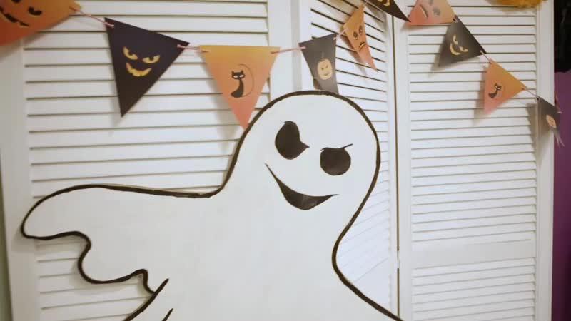 Видеоролик с хеллоуина в детском клубе Карамба