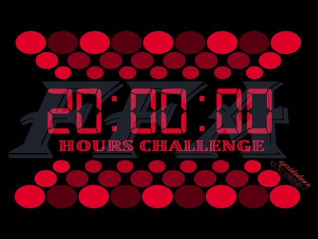 Agar.io | 20 Hours Challenge - FFA Highlights 6