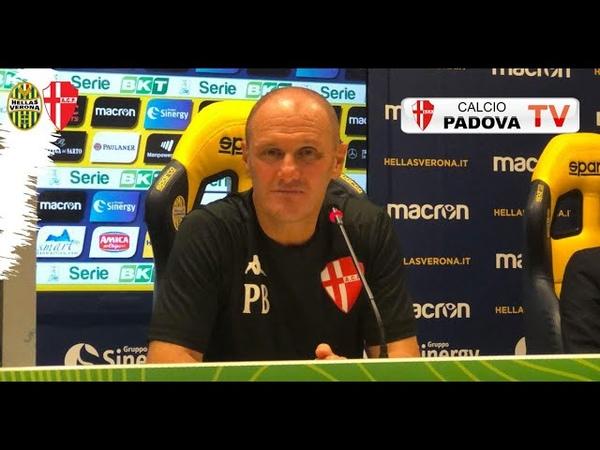 Mister Bisoli. Sala Stampa Hellas Verona-Padova; :