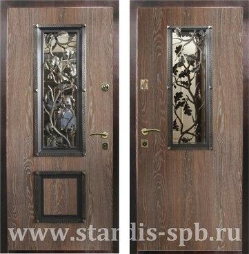 стоимость простой железной двери