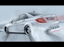 EA7 M.u.s.i.C (Mercedes C63 AMG Drift Drawing by Adonis Alcici)