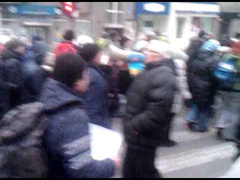 2 марта 2014 Харьков Харьковское шествие прощание с Владом Зубенко