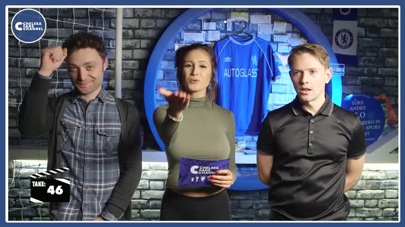 Chelsea Fans Channel Bloopers _ Rory, Sophie Jack