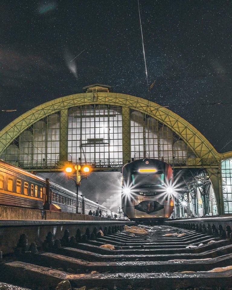 Ніч на вокзалі