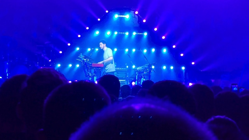 Mike Shinoda - In The End and speech live Ludwigsburg [ger] 22.03.2019