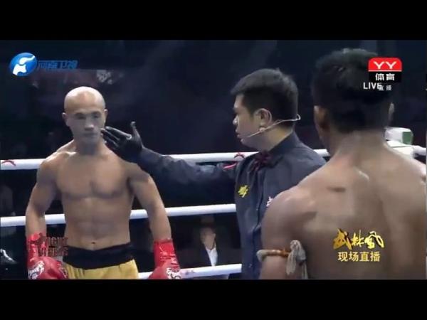 Buakaw vs Yi Long (rematch) Thiếu Lâm thắng bẩn.