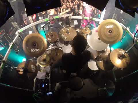 Hellhammer drum cam Mayhem live in oslo John dee 18.03.2018 Part 5