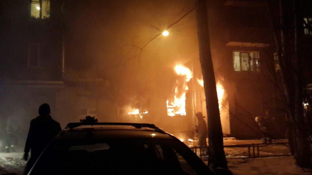 НаЛанском сгорел зал для торжеств