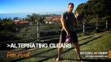 Alternating Kettlebell Cleans
